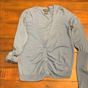 Banana Republic blue Wool-blend sweater